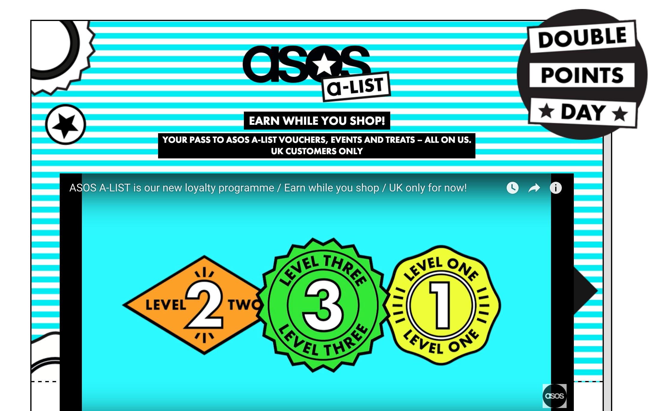 ASOS A-List