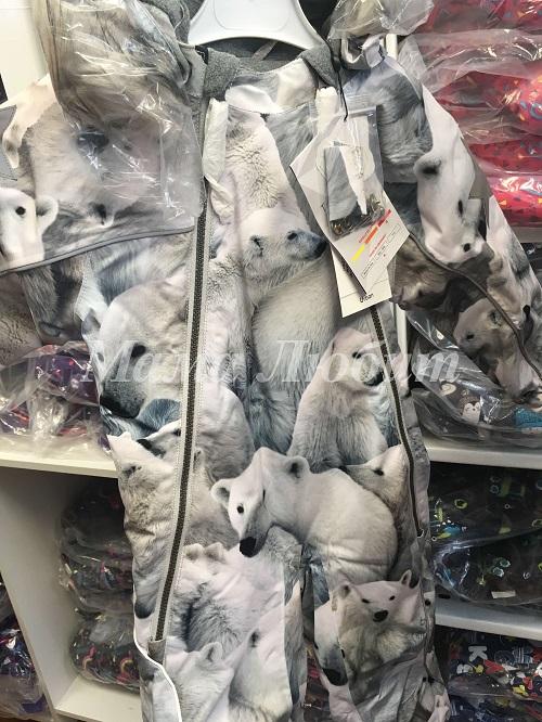 Зимний комбинезон Molo Pyxis Polar Bear с доставкой в интернет-магазине Мама Любит!