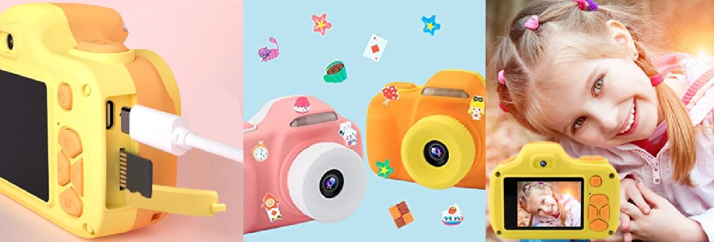 Детский фотоаппарат зоо кидс жираф