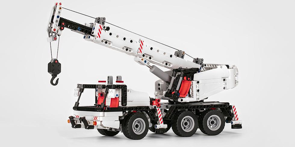 Конструктор Xiaomi MITU Block Constructor Crane
