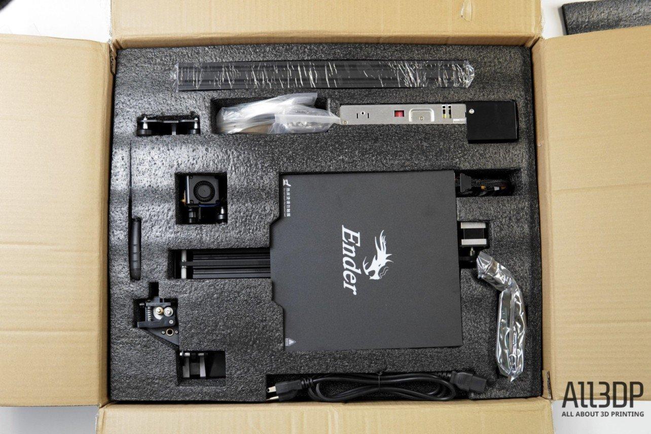 Изображение обзора Creality Ender 3 Pro: распаковка и сборка