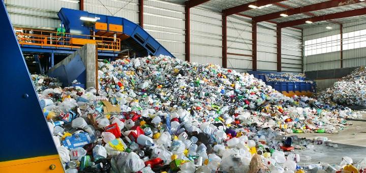 Пункт утилизации и переработки пластика