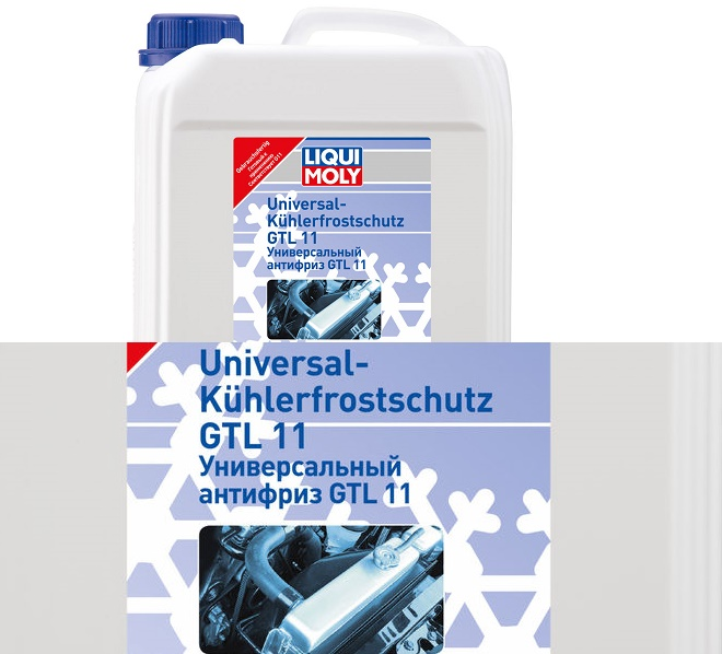 Liqui Moly GTL11 Готовый антифриз (синий)