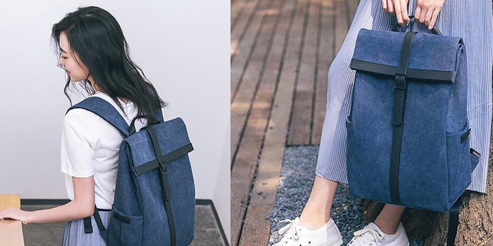 Рюкзак Xiaomi 90 Points Grinder Oxford Casual Backpack (кремовый)