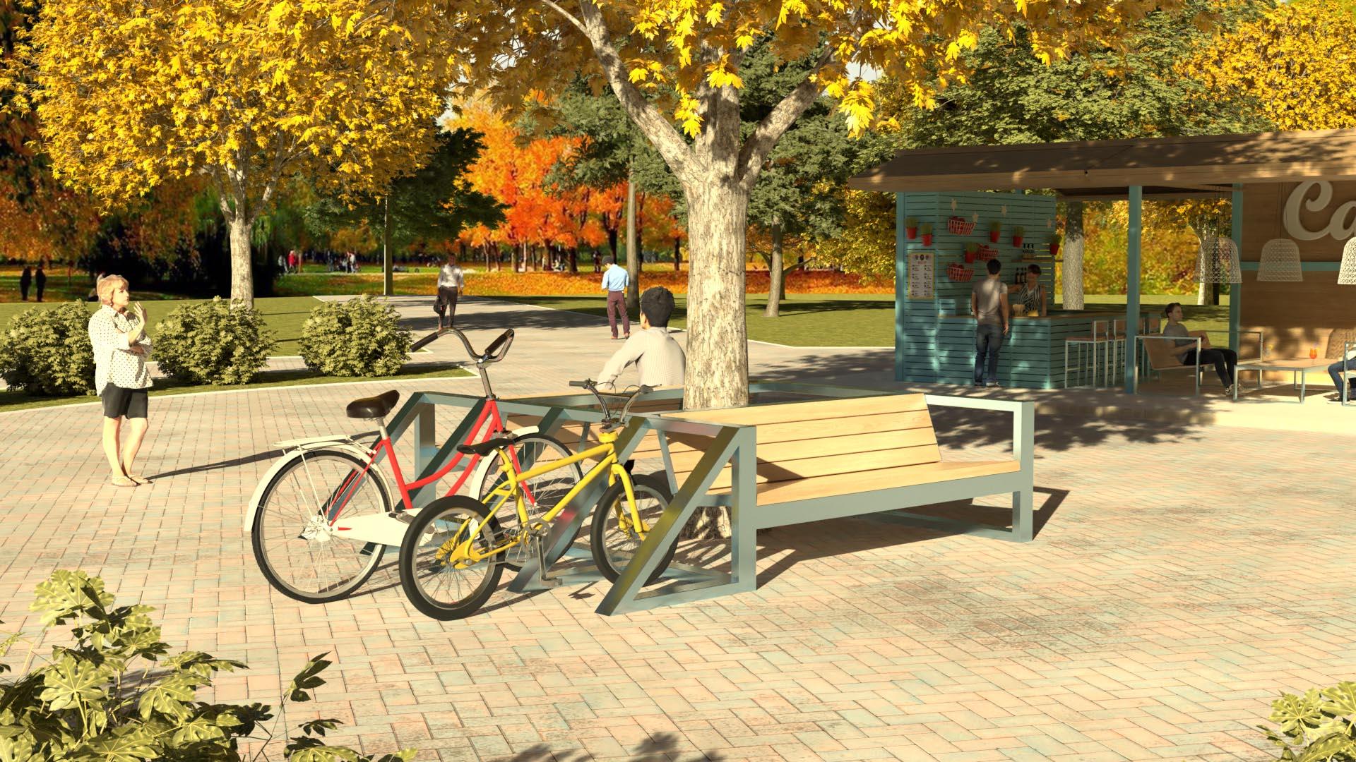 изготовление велопарковок на заказ
