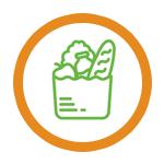 В воскресеньев удобное для Вас время курьер доставит коробку с продуктами и рецептами к Вашим дверям