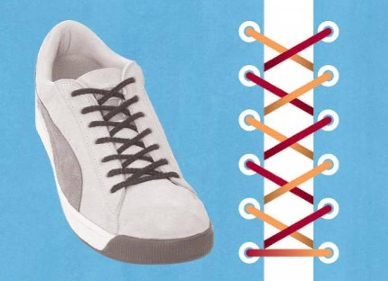 Как завязать шнурки - 1