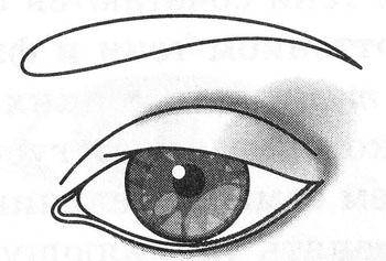 Макияж глаз с наплывающей складкой века