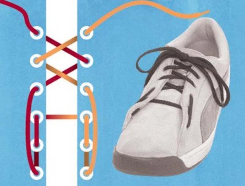 Как завязать шнурки - 2