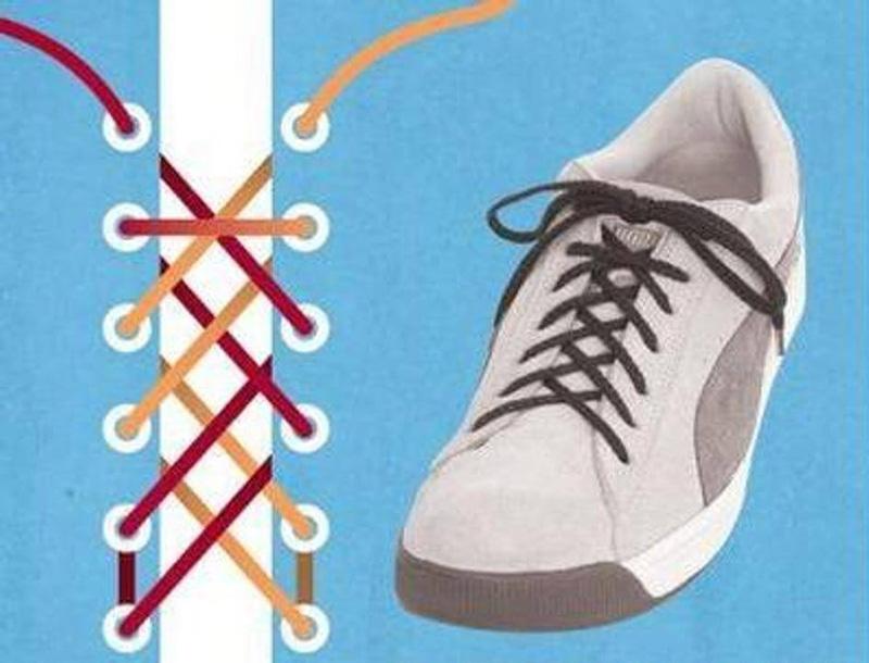 Как завязать шнурки - 3