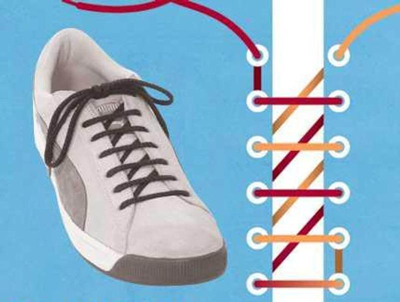 Как завязать шнурки - 4