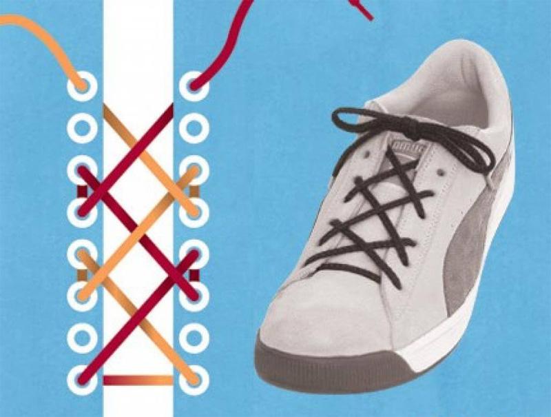 Как завязать шнурки - 6