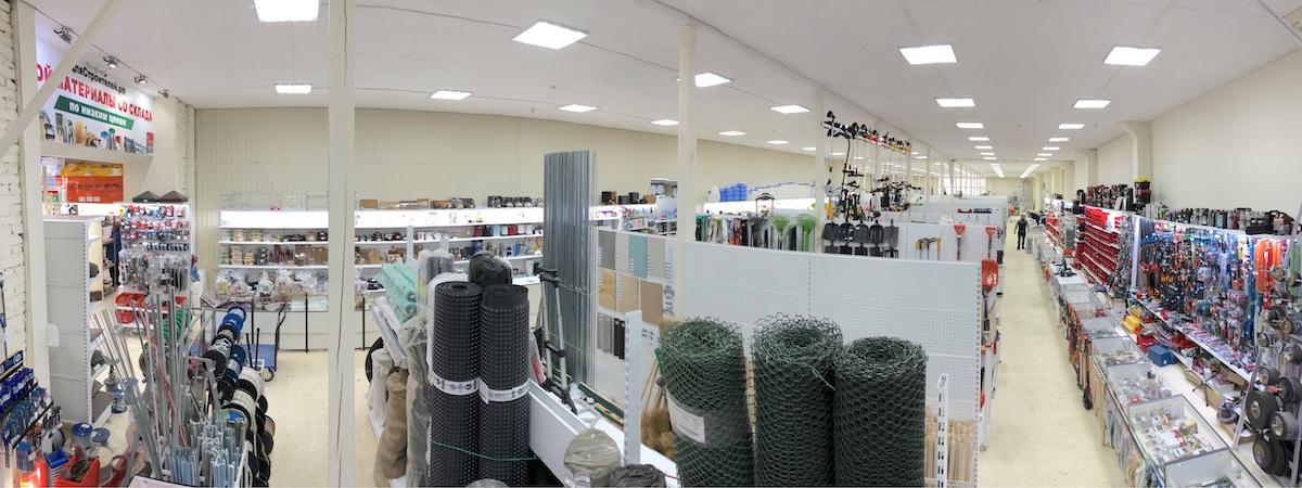 Строительный магазин в Заокском
