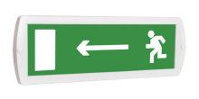 Направление к выходу налево - световое табло Топаз