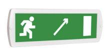 Направление к выходу направо-вниз - световое табло Топаз