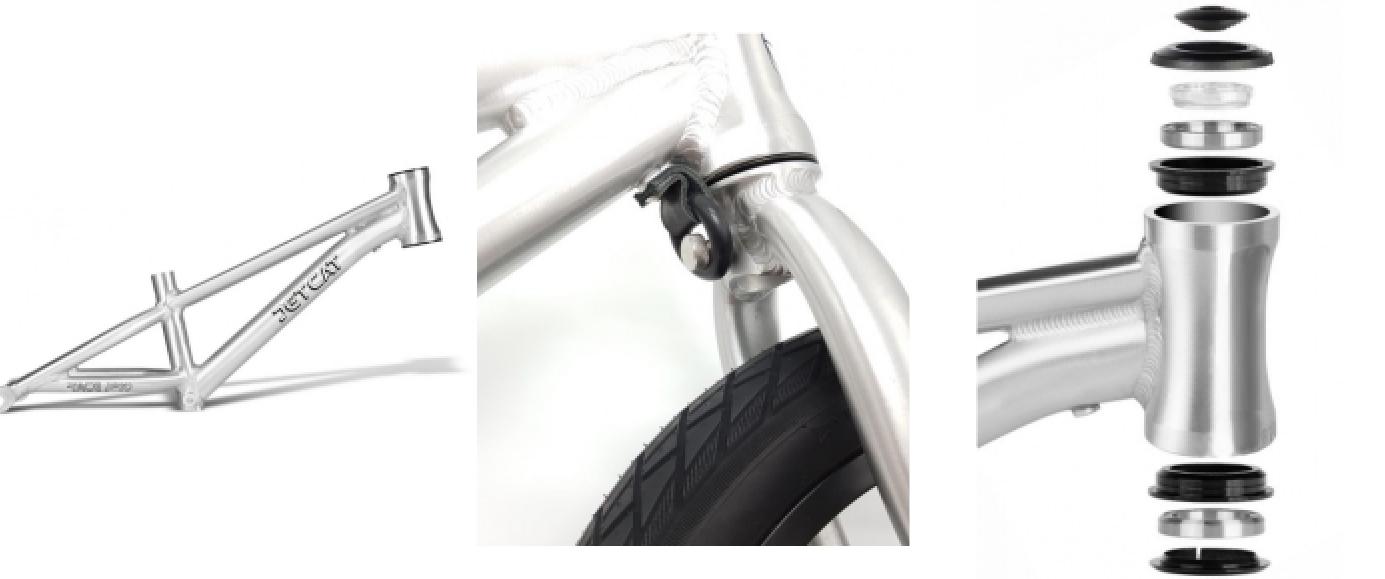 Беговел JetCat 12 Race Pro усиленные узлы