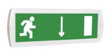 Выход здесь (правосторонний) - световое табло Топаз