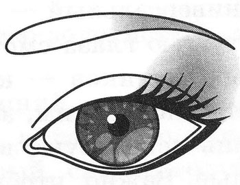 Макияж близко поставленных глаз