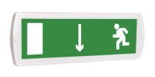 Выход здесь (левосторонний) - световое табло Топаз