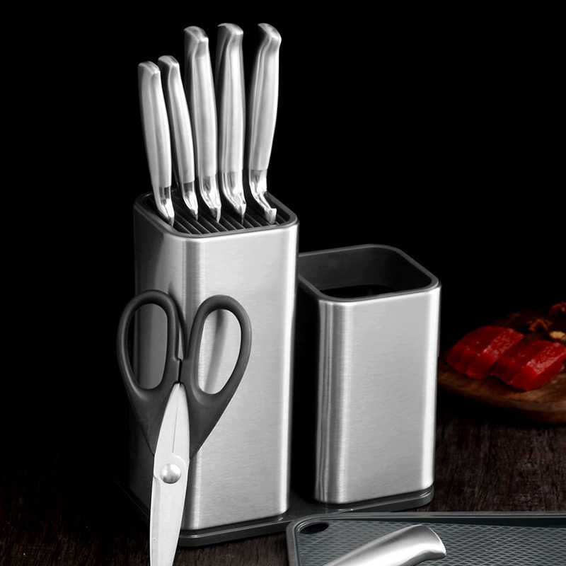 Большой набор кухонных ножей