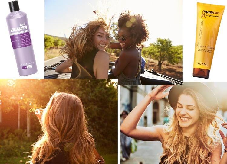 Защита для волос от солнца