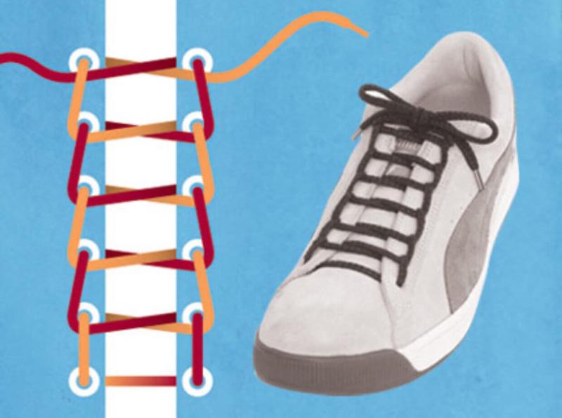 Как завязать шнурки - 8