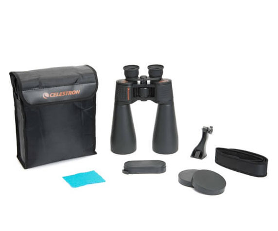 Бинокль Celestron SkyMaster 25x70 - фото комплекта поставки