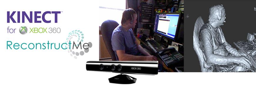 Xbox Kinect ReconstructMe