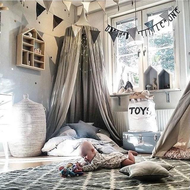 Оформление детской комнаты в скандинавском стиле