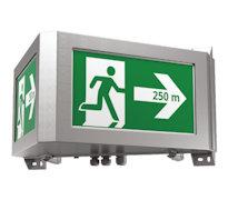 ESCAPELITE-L Настенный указатель для аварийного освещения тоннелей