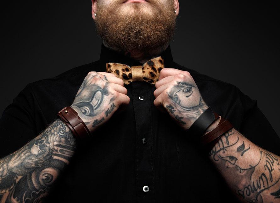 галстук тату на теле фото фотографий
