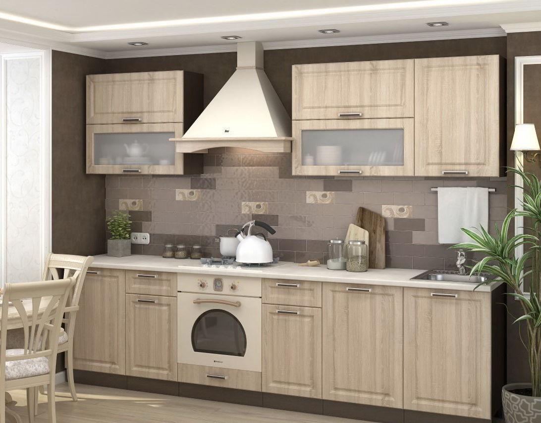 ПРАГА Мебель для кухни (Сонома)