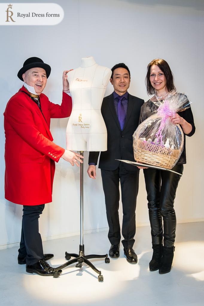 Подарки победителям конкурса им. Ламановой от Royal Dress forms