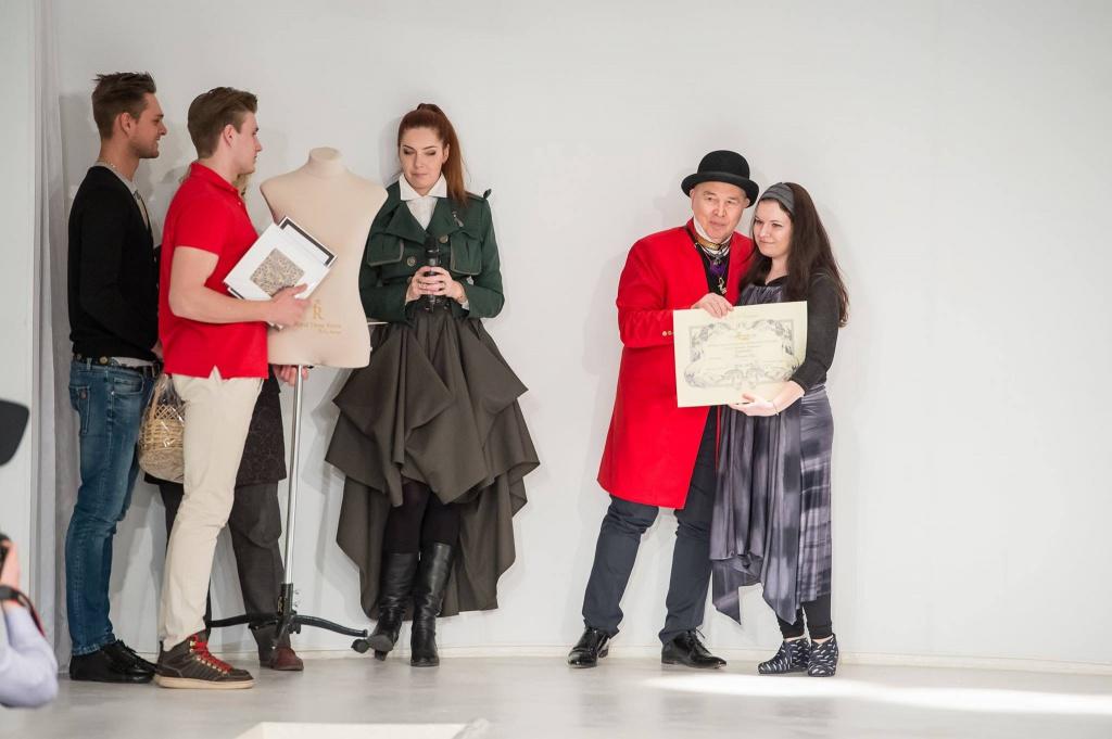 Манекен Кристина от Royal Dress forms для победителя конкурса им. Ламановой