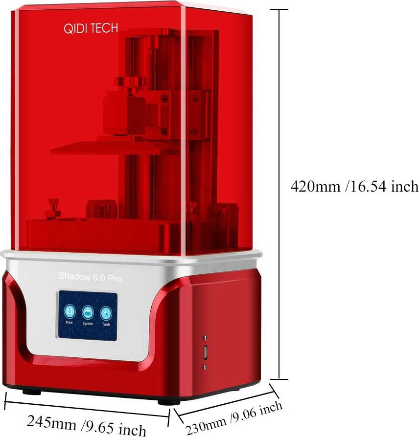 QIDI Tech Shadow 6.0 Pro