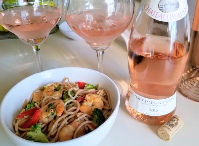 Пары для розового вина