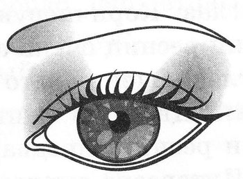 Макияж широко посаженных глаз