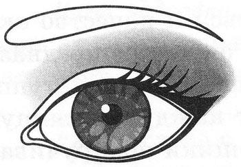Макияж круглых глаз