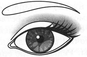 Макияж миндалевидных глаз