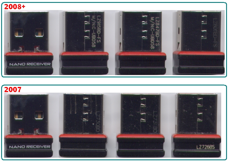 Приемник Logitech VX Nano