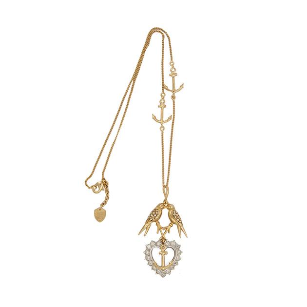 изящные украшения с кристаллами Swarovski из коллекции Anchor Line от Schield