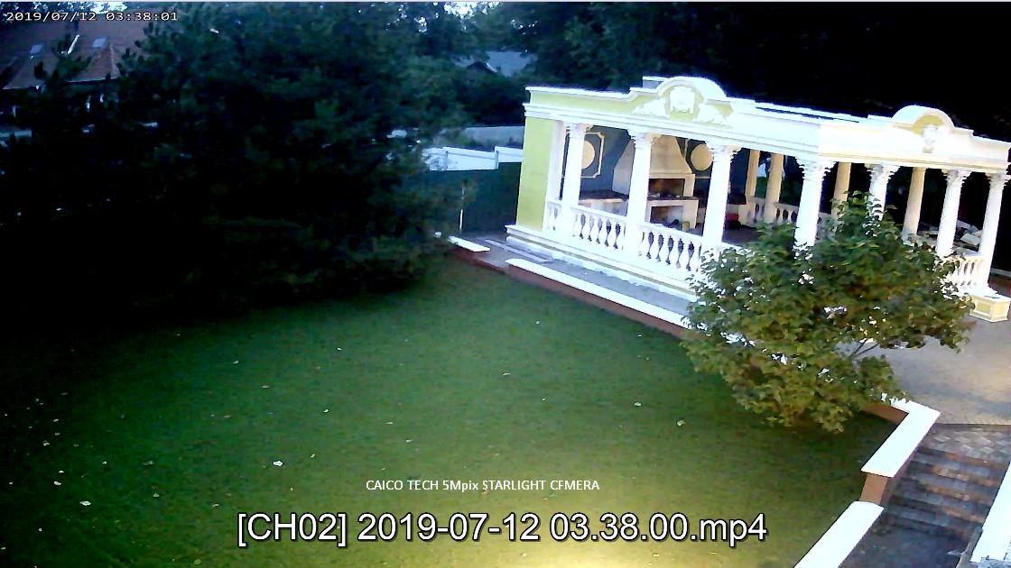 CAICO TECH CCTV CAMERA ZOOM x5 цветное изображение ночью mod: 5D50T STARLIGHT