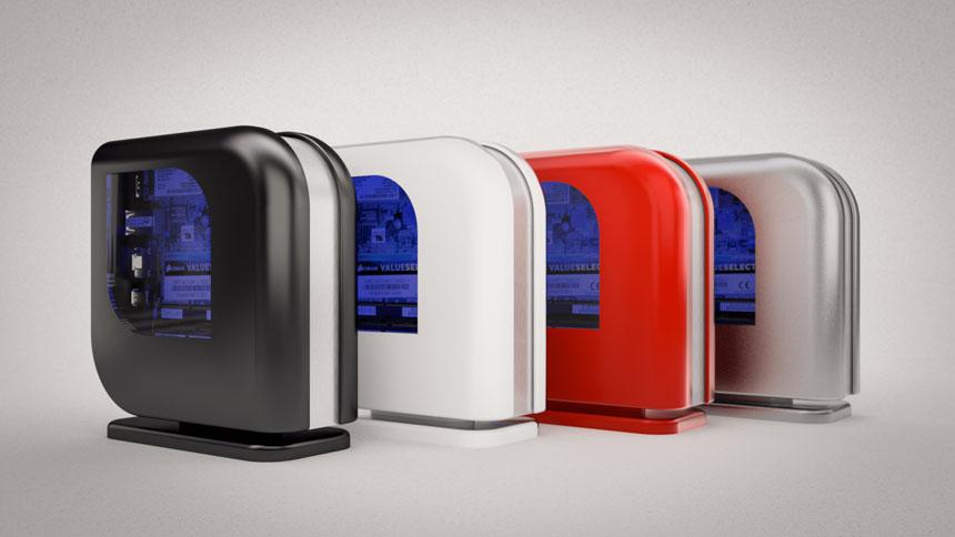 Напечатанный мод корпуса компьютера №6: Moderne