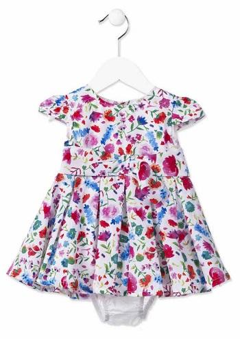 Платье Losan с цветочками для девочек (сезон лето 2018) купить в интернет-магазине Мама Любит!