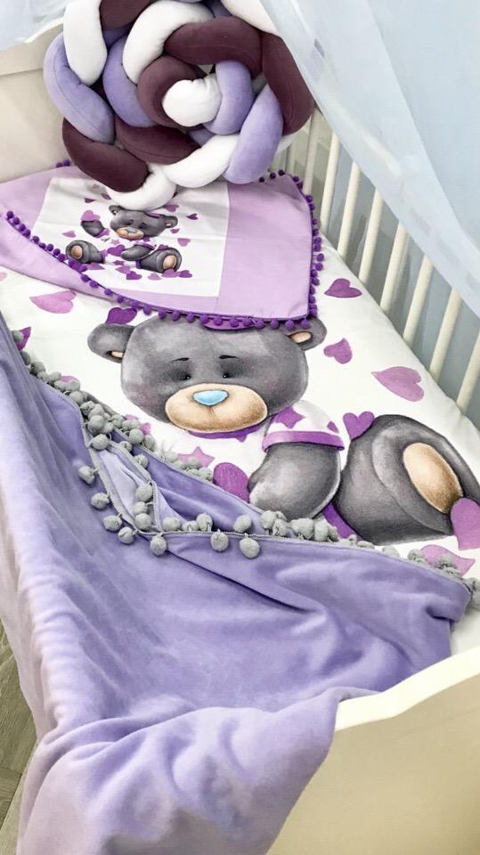 Комплект в детскую кроватку с одеялом