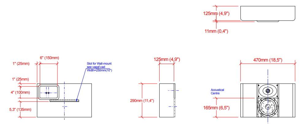 Настенная акустика Procella P6