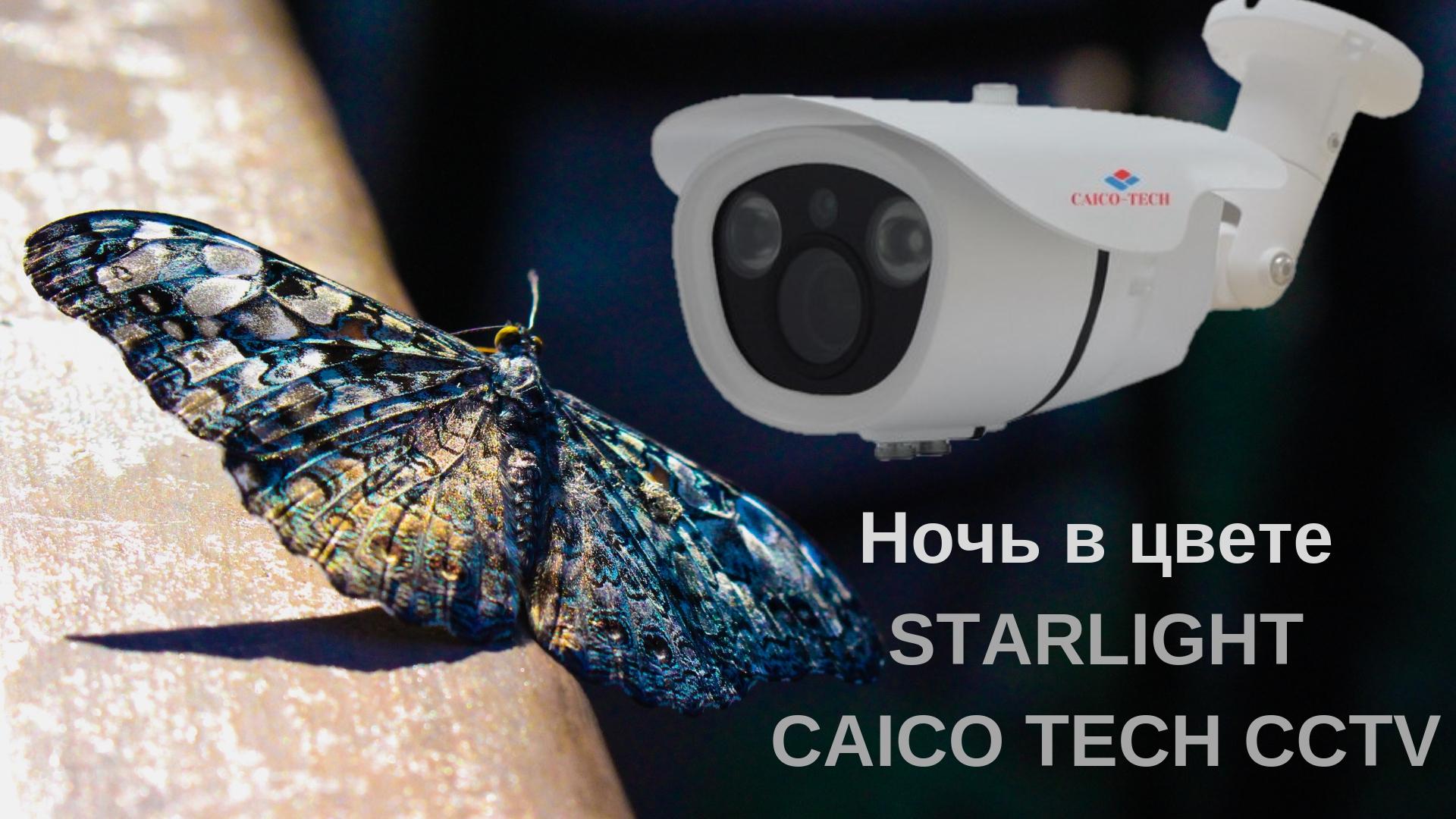STARLIGHT  CAICO TECH CCTV видеокамеры