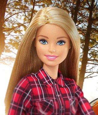 Барби Кемпинг Блондинка