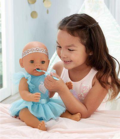 Интерактивная кукла Baby Born с зелеными глазками