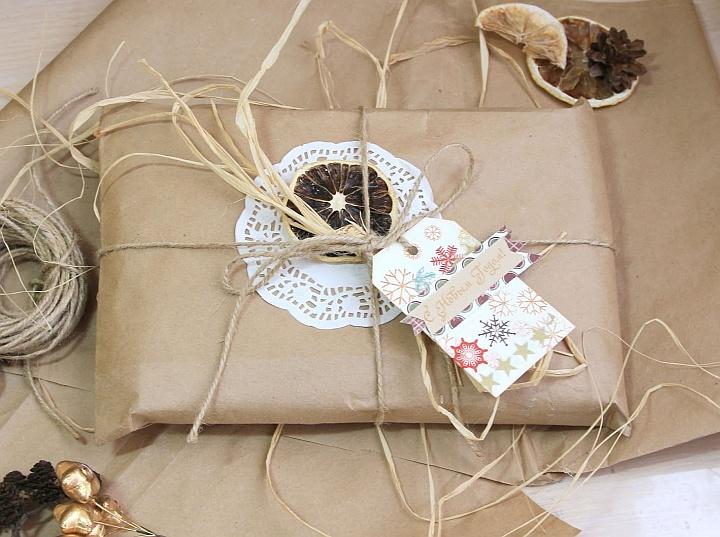 В умелых руках и бумага превратится в изысканную подарочную упаковку